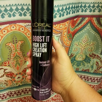 Photo of L'Oréal Paris Advanced Hairstyle BOOST IT High Lift Creation Spray uploaded by Alana C.