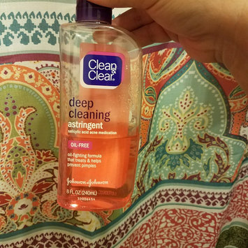 Photo of Clean & Clear® Essentials Deep Cleaning Astringent uploaded by Alana C.