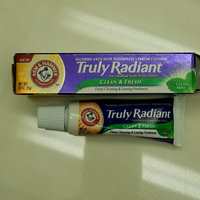 ARM & HAMMER™ Truly Radiant™ Clean Mint Fluoride Anticavity Toothpaste uploaded by Bethann B.