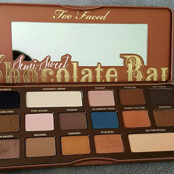 Too Faced Semi Sweet Chocolate Bar uploaded by Xan S.