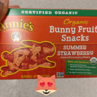 Annie's® Homegrown Summer Strawberry Organic Bunny Fruit  Snacks uploaded by LaLa W.