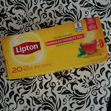 Lipton® Serve Hot or Iced Tea Bags uploaded by Skylar S.