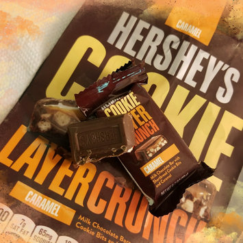 Photo of Hershey's Caramel Cookie Layer Crunch Chocolate Bars 6.3 oz. Bag uploaded by OnDeane J.