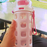 Ello Pure BPA-Free Glass Water Bottle with Lid, 20 oz [Coral Fizz] uploaded by Delilah S.