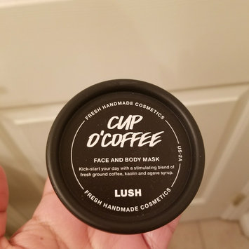 LUSH Cup O' Coffee Face and Body Mask uploaded by Mayram C.