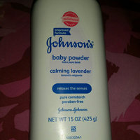 Johnson's Baby Powder Calming Lavender & Chamomile uploaded by Rachael ..