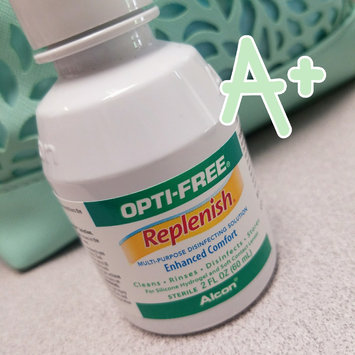 Opti-Free® Replenish® Multi-Purpose Contact Lens Solution uploaded by Lauren M.