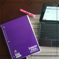 3 Subject Notebook, Wide Ruled, 120 Sheet, 5pc uploaded by Gael L.