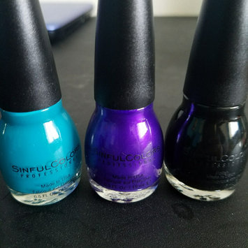 SinfulColors Professional Nail Color uploaded by Beatrice R.