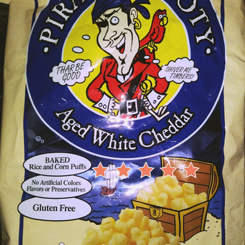 Photo of Pirate's Booty® Aged White Cheddar Rice and Corn Puffs uploaded by Antumn M.