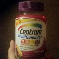 Centrum MultiGummies Women, Cherry, Berry, Orange uploaded by Kayla T.
