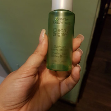 Photo of Garnier Skinactive Clearly Brighter Overnight Leave-on Peel uploaded by Alejandra B.