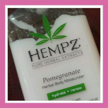 Photo of Hempz Pomegranate Herbal Moisturizer uploaded by Shauna G.