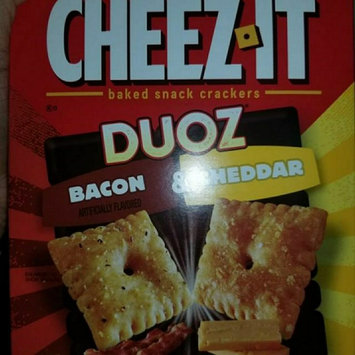 Cheez-It Duoz® Bacon & Cheddar Baked Snack Crackers 12.4 oz. Box uploaded by Shakeia R.