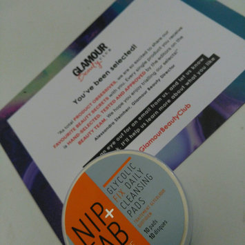 Photo of Nip + Fab Glycolic Fix Exfoliating Facial Pads - 60 Count uploaded by Jade M.