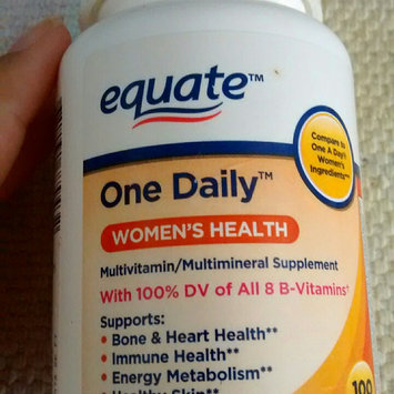 Equate One Daily Women's Multivitamin Multimineral Supplement uploaded by Paola G.