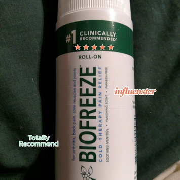 Photo of Biofreeze Pain Relieving Roll-On, Green, 2.5 oz uploaded by Mindy J.
