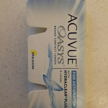 Photo of Acuvue Oasys For Astigmatism Contact Lenses uploaded by Lauren M.