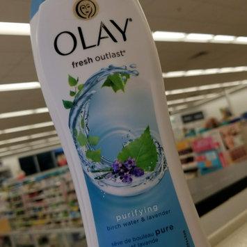Photo of Fresh Outlast Olay Fresh Outlast Purifying Birch & Lavender Body Wash 22 oz uploaded by Erin A.