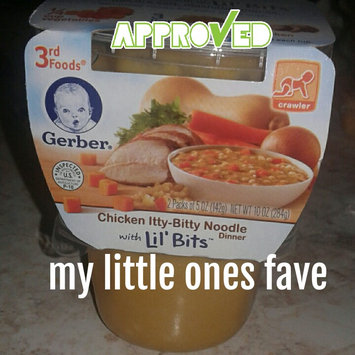 Photo of Gerber® Lil' Bits® Baby Food   Chicken Itty-Bitty Noodle Dinner uploaded by Tiffany T.
