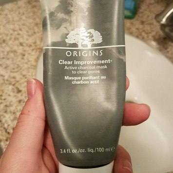 Photo of Origins Clear Improvement Active Charcoal Exfoliating Cleansing Powder to Clear Pores uploaded by Brittany L.