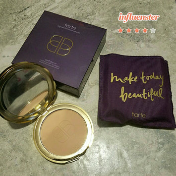 Photo of Tarte Double Duty Beauty Confidence Creamy Powder Foundation uploaded by Karen W.