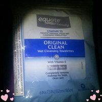 Equate Beauty Original Clean Wet Cleansing Towelettes, 15 sheets uploaded by Alexanderia D.