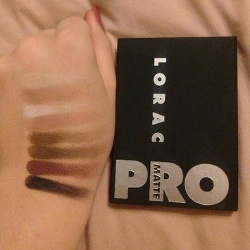 Photo of LORAC PRO Matte Eye Shadow Palette (Chocolate/Red/Latte) uploaded by Emma R.