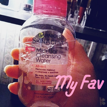 Garnier Skinactive Micellar Cleansing Water All-in-1 Makeup Remover & Cleanser 3 oz uploaded by Diana S.