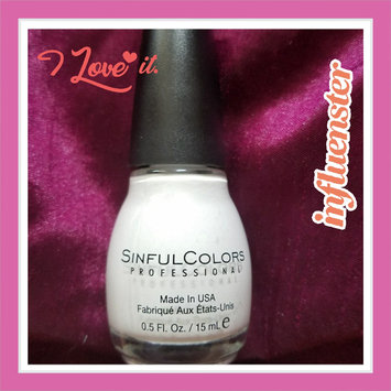 SinfulColors Professional Nail Color uploaded by Oyuky R.