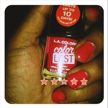 L.A. Colors Color Last Nail Polish, 0.5 fl oz uploaded by Kamesha M.