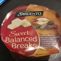 Sargento® Sweet Balanced Breaks® Monterey Jack Natural Cheese, Dried Cranberries & Dark Chocolate Covered Peanuts Snacks uploaded by Adri K.