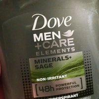 Dove Men+Care Elements Minerals and Sage Deodorant uploaded by Wendy H.