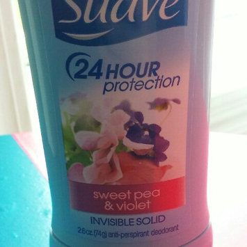 Suave® Sweet Pea & Violet Invisible Solid Anti-Perspirant Deodorant uploaded by danyelle m.
