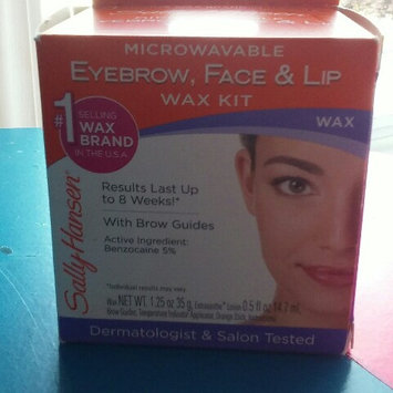 Photo of Sally Hansen Eyebrow, Face & Lip Wax, Microwaveable, wax 1.25 oz uploaded by danyelle m.