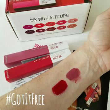 Photo of Maybelline SuperStay Matte Ink™ Liquid Lipstick uploaded by Vanessa K.
