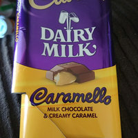 Cadbury Dairy Milk Caramello Milk Chocolate & Creamy Caramel uploaded by Cali E.