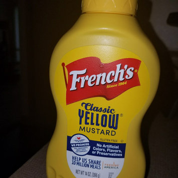 Photo of French's Classic Yellow Mustard uploaded by Tori D.
