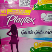Playtex Gentle Glide Plastic Unscented Multi-Pack Tampons 50-ct. uploaded by Diana P.