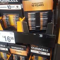 Duracell Coppertop Alkaline AAA Batteries - 34 pk uploaded by Judith C.