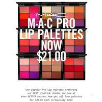 MAC Pro Lip Palettes uploaded by ExoticAsianGoddess L.