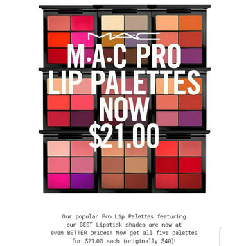 Photo uploaded to M.A.C Cosmetics Pro Lip Palettes by ExoticAsianGoddess L.