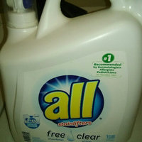all® free clear Laundry Detergent 108 Loads 162 fl. oz. Bottle uploaded by kheycee m.