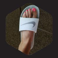 black Nike Girls' Kawa Slide Sandals from Finish Line uploaded by Lori M.