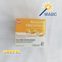 Avalon Organics Intense Defense With Vitamin C Oil-Free Moisturizer uploaded by Rosalba M.