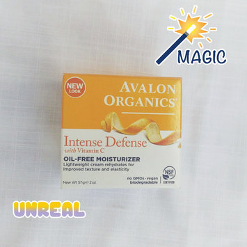 Photo of Avalon Organics Intense Defense With Vitamin C Oil-Free Moisturizer uploaded by Rosalba M.
