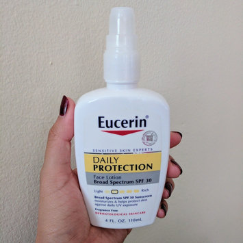 Eucerin Face Lotion and Sunscreen 30 SPF uploaded by Patty C.