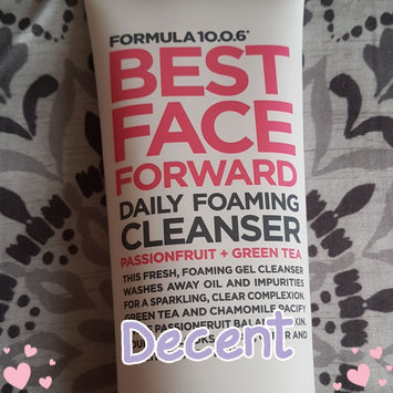 Photo of Formula 10.0.6 Best Face Forward Daily Foaming Cleanser, 5 fl oz uploaded by Carla B.