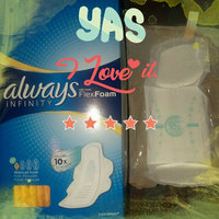 Always Infinity Size 1 Regular Pads with Wings Unscented uploaded by Shalayna G.