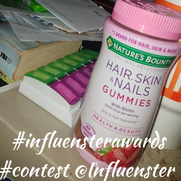 Nature's Bounty Optimal Solutions Hair, Skin & Nails Dietary Supplement Strawberry Flavored Gummies, 90 count uploaded by Vel T.